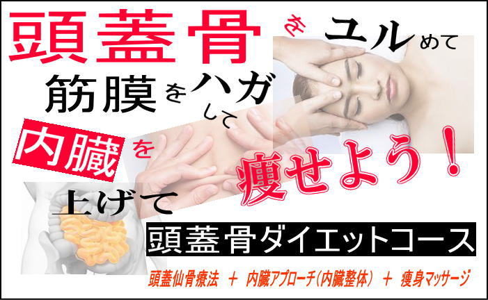頭蓋骨ダイエットコース